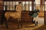 Commission for PalominoX - Centaur surprise!