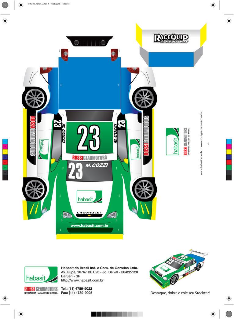 Papercraft Cars Template Car Papercraft Template