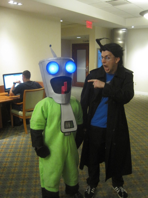 Gir and Dib Boston Comic Con by cubseidl