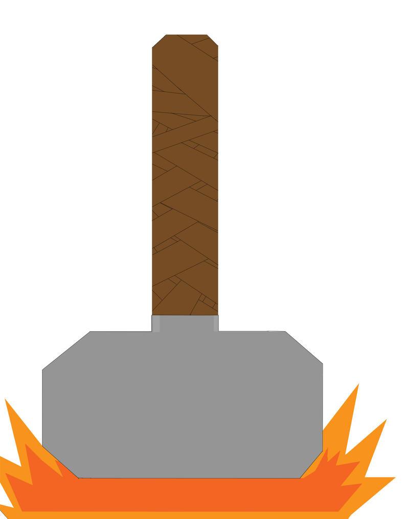 marvel thor s hammer by lazorhunter on deviantart