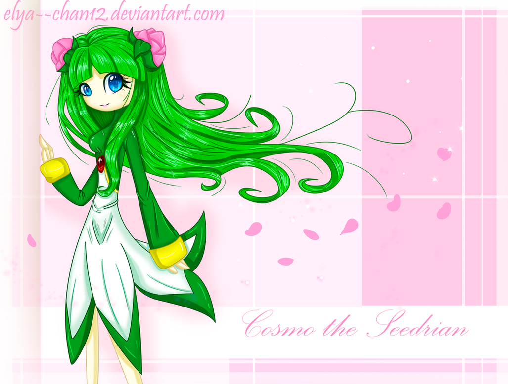 Cosmo the Seedrian by Elya--chan12
