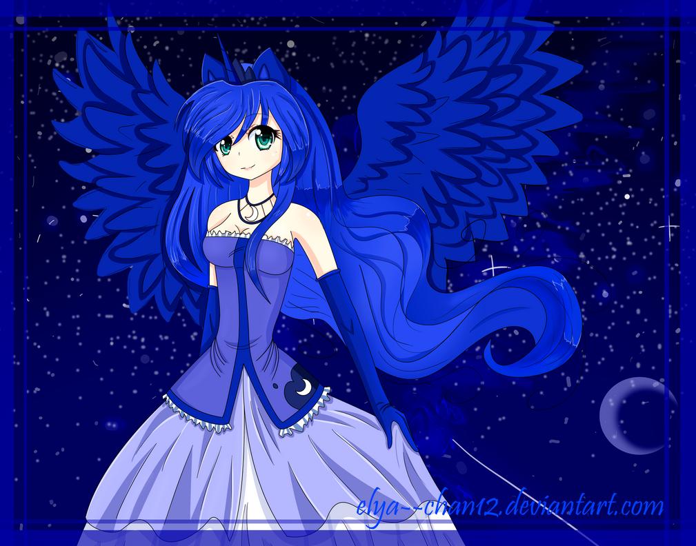Princess Luna by Elya--chan12