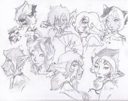 Pretty Kitties 1 by Zerbitz