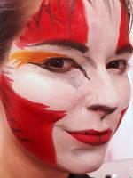 'sketch' makeup- Eclipse by Zerbitz