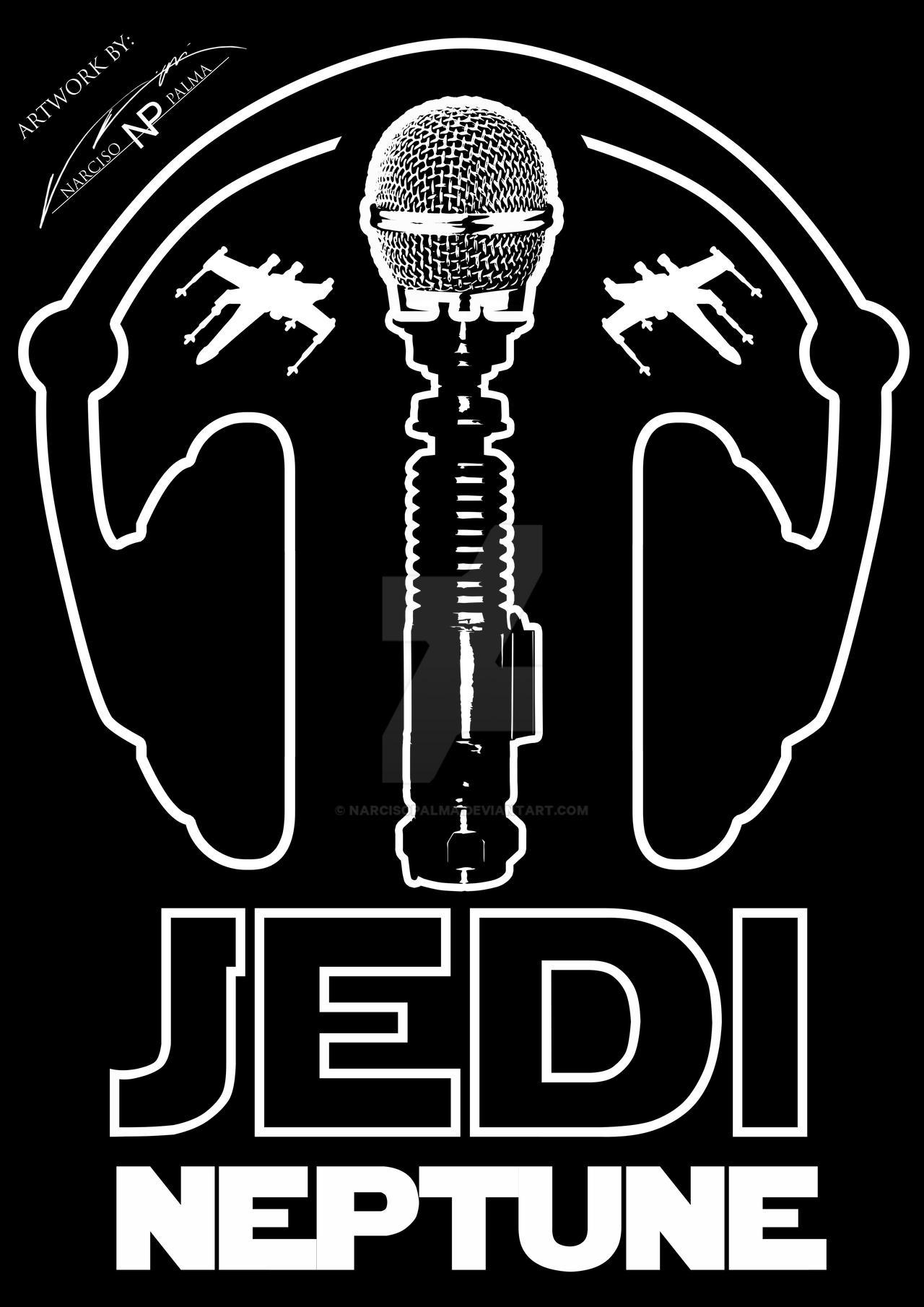 Jedi Neptune Logo - By Narciso Palma