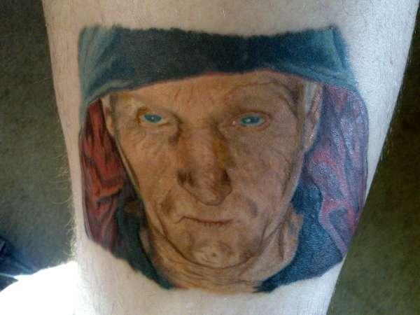 Jigsaw Doll Tattoo