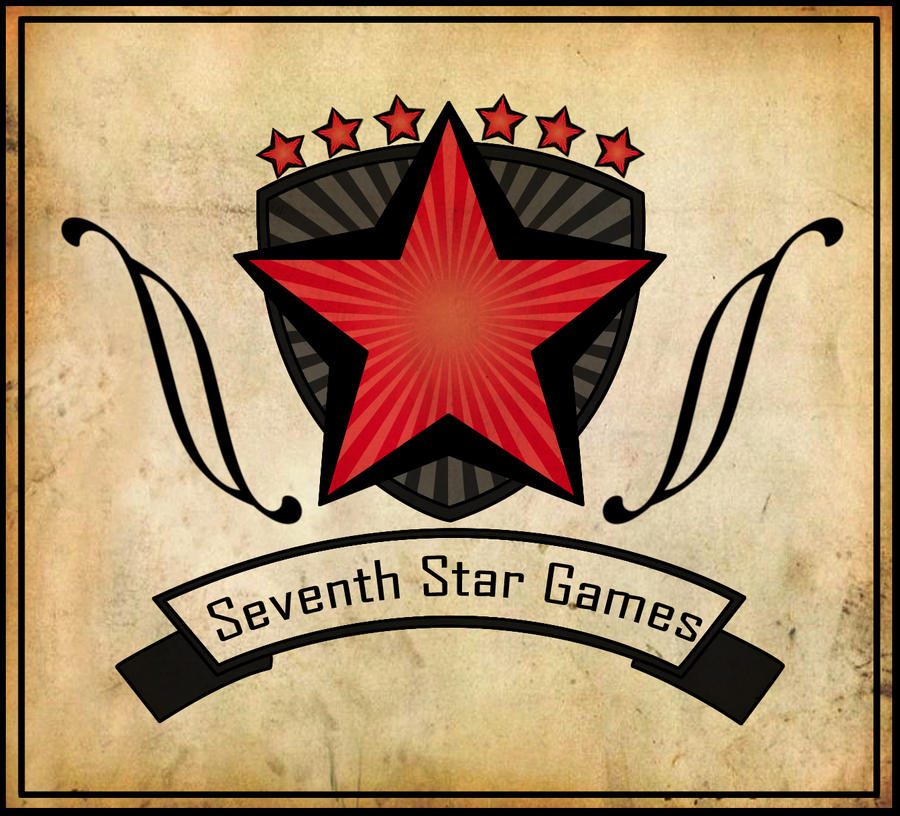 """Seventh Star Games"" logo by ErebusNyx"