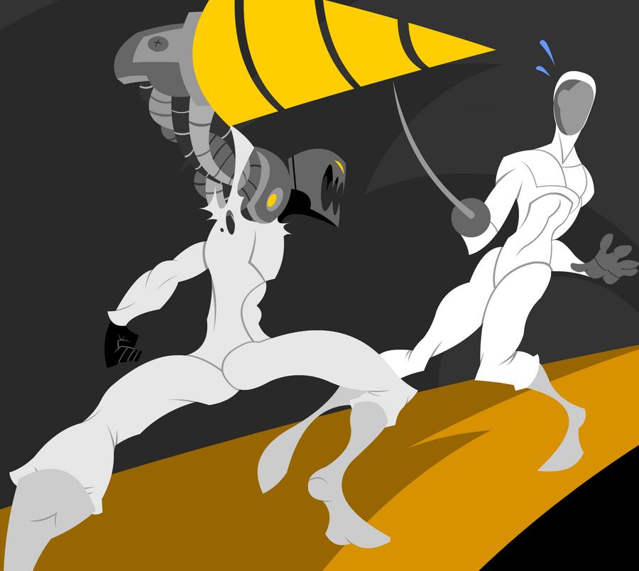 DU Sports: Fencing by B0XAB0T