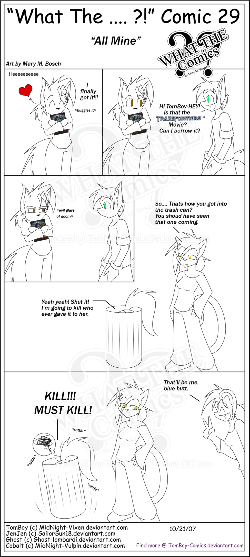 """what The"" Comic 29 by TomBoy-Comics"