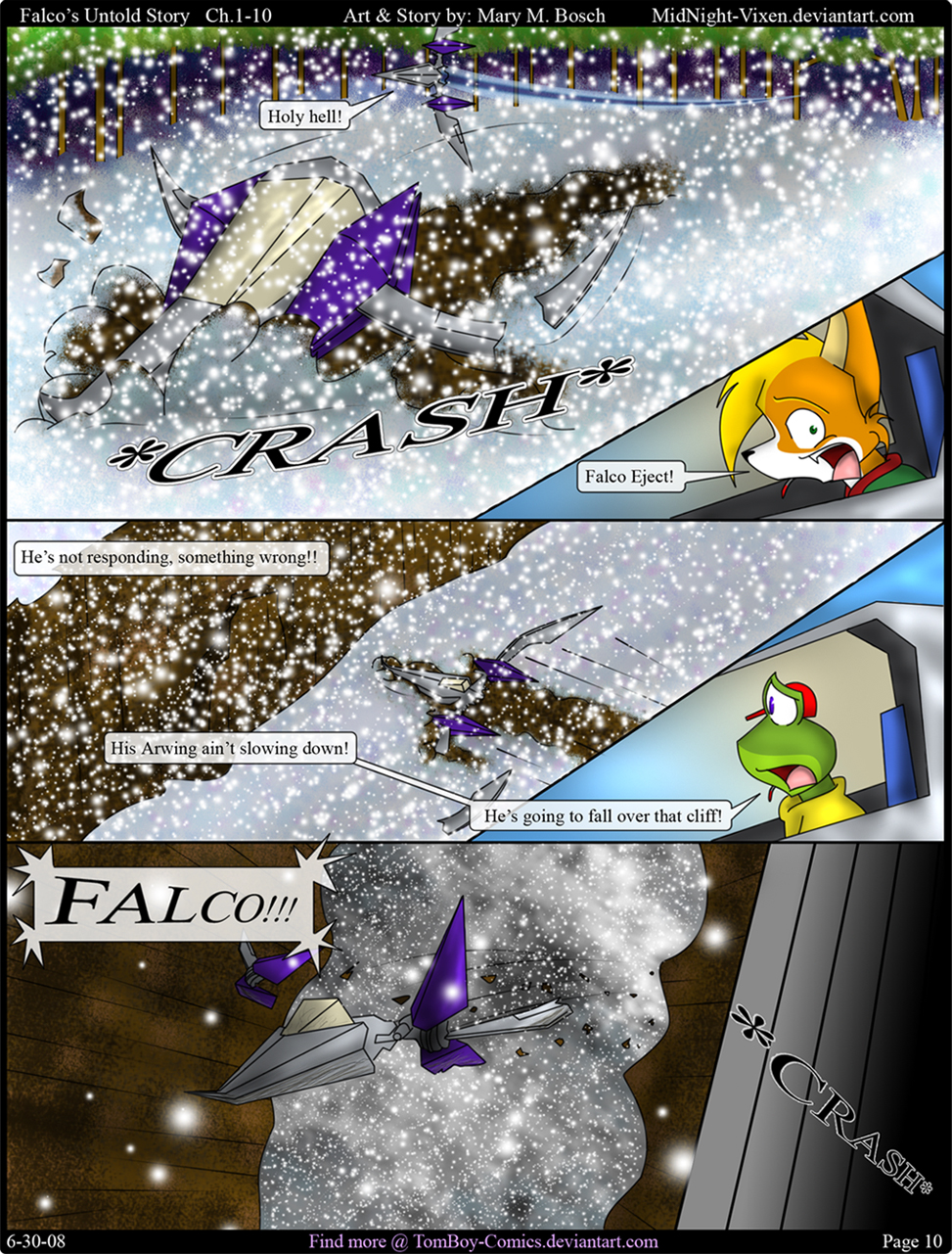 Falco's Untold Story Ch.1-10 by TomBoy-Comics