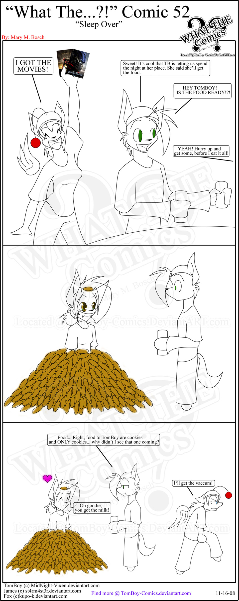 'What The' Comic 52 by TomBoy-Comics