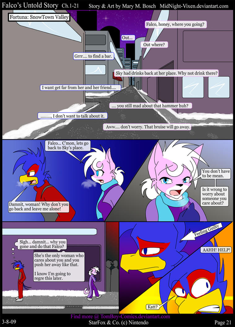 Falco's Untold Story Ch.1-21 by TomBoy-Comics