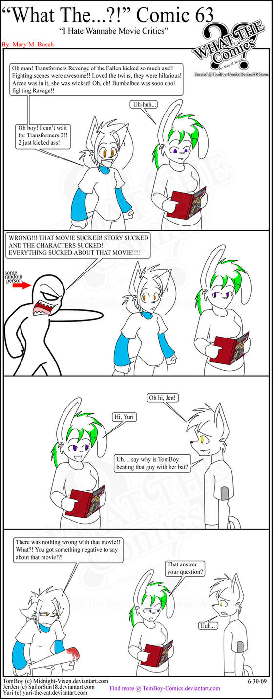 'What The' Comic 63 by TomBoy-Comics