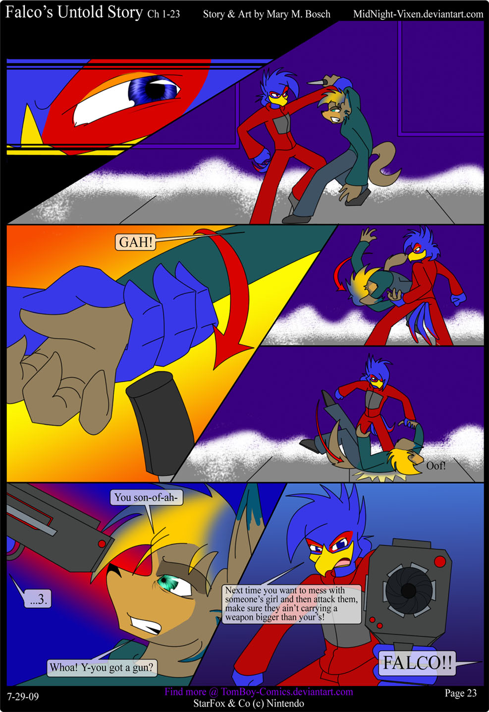 Falco's Untold Story Ch.1-23 by TomBoy-Comics