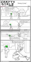Minecraft Comic: Crafty Girls Pg2 by TomBoy-Comics