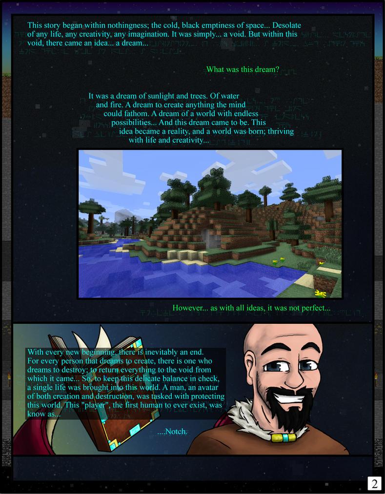 Minecraft: The Awakening Pg02 by TomBoy-Comics