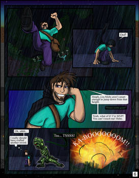 Minecraft: The Awakening Pg06 by TomBoy-Comics