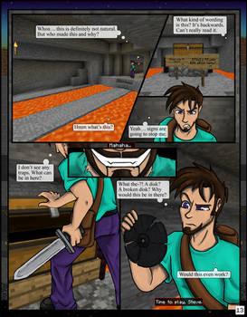 Minecraft: The Awakening Pg13 by TomBoy-Comics