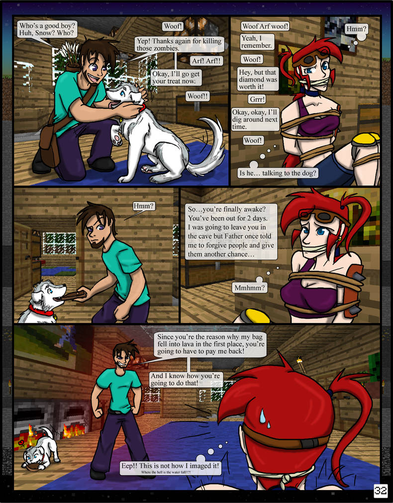 Minecraft: The Awakening Pg32 by TomBoy-Comics on DeviantArt