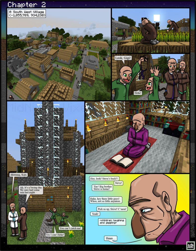 Minecraft: The Awakening Ch2-12 by TomBoy-Comics