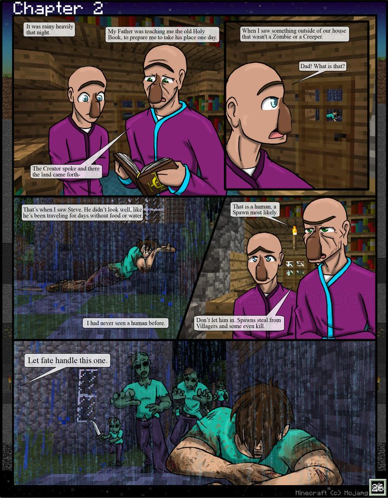 Minecraft: The Awakening Ch2. 26 by TomBoy-Comics