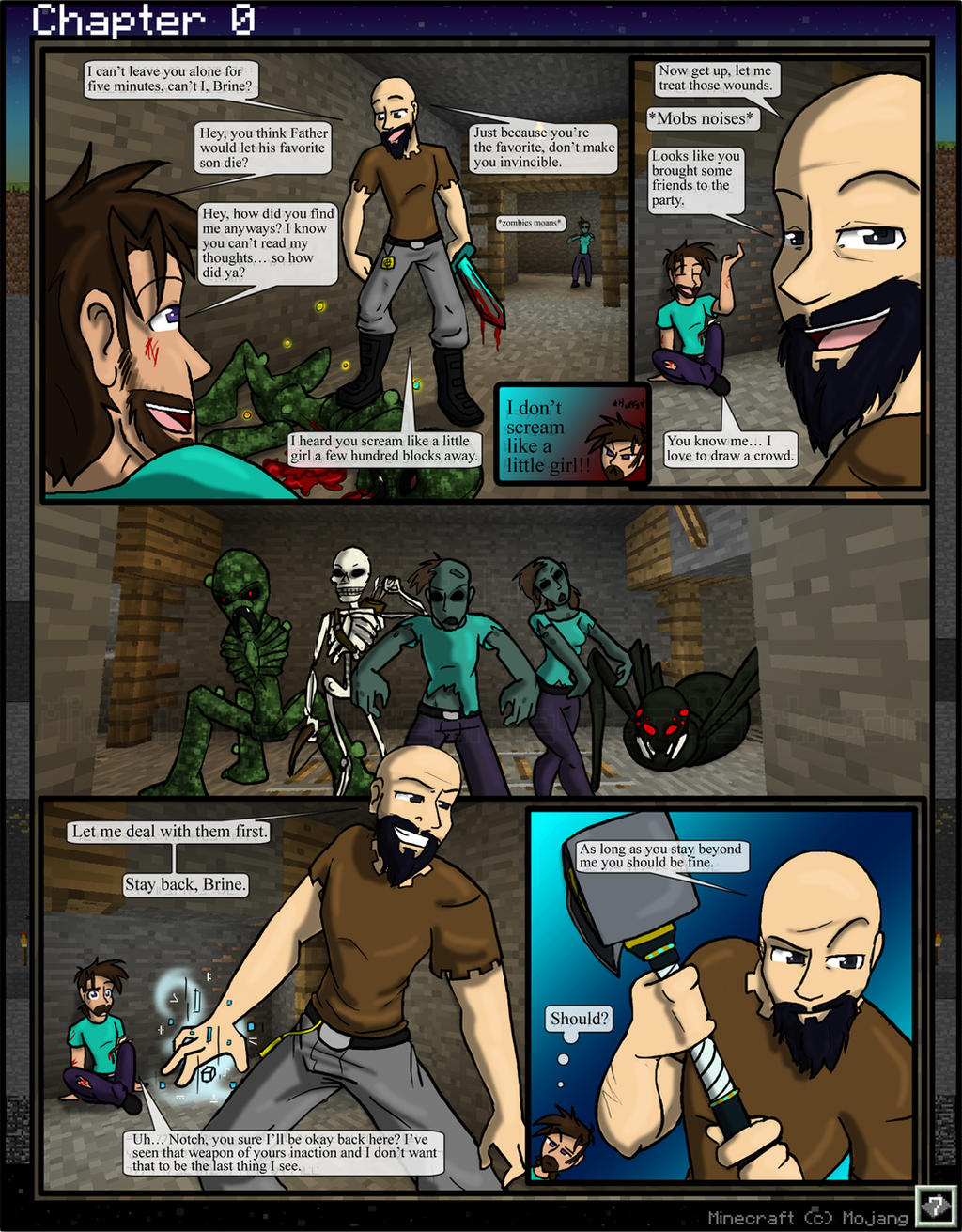 MC: The Beginning Chapter 0 -7 by TomBoy-Comics