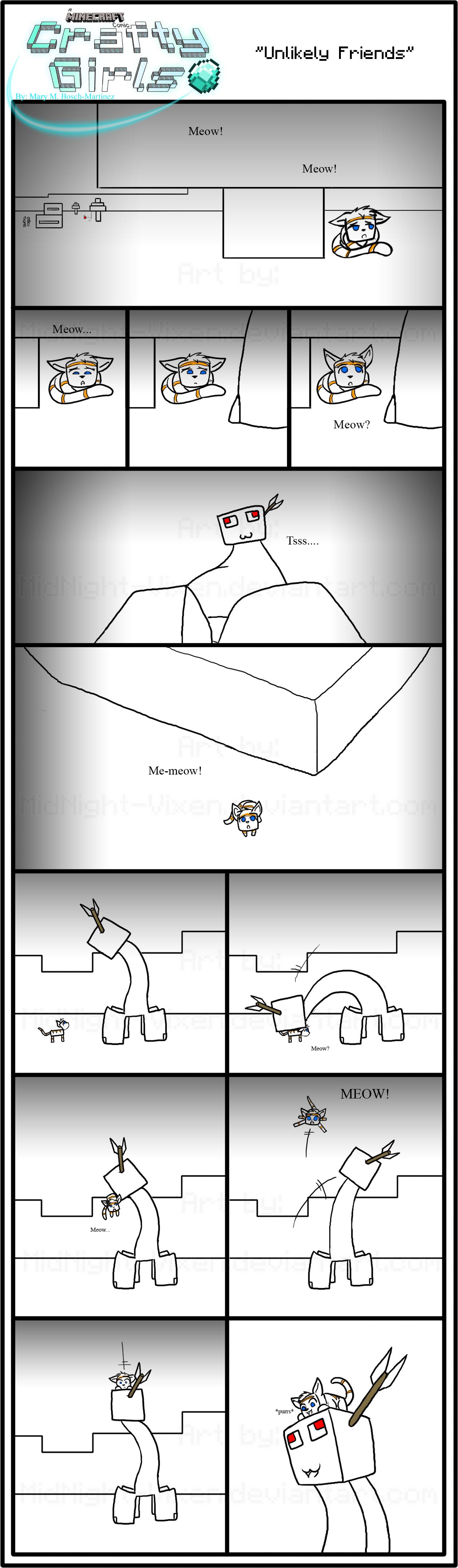 Minecraft Comic: CraftyGirls Pg 86 by TomBoy-Comics