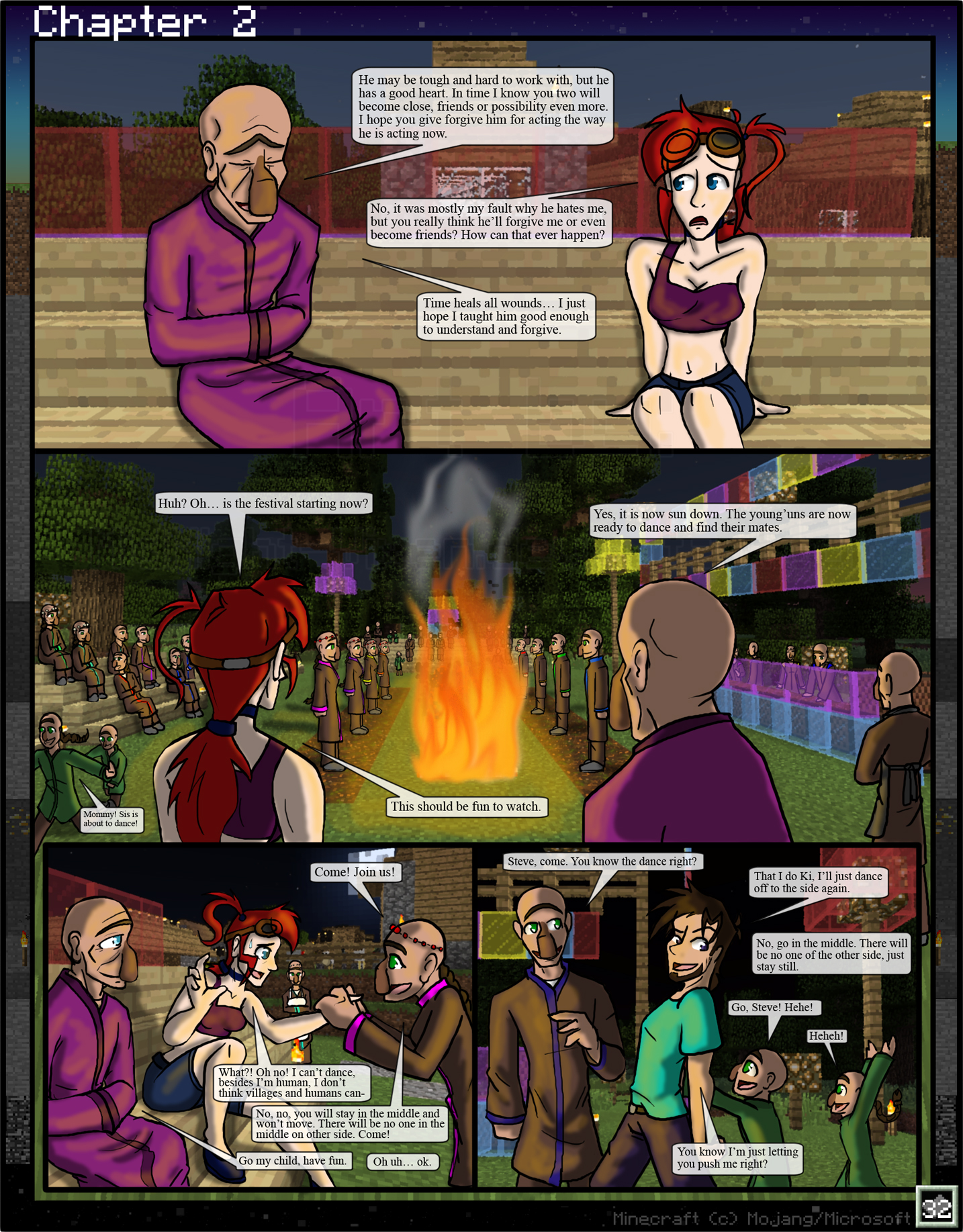 Minecraft: The Awakening Ch2. 32 by TomBoy-Comics