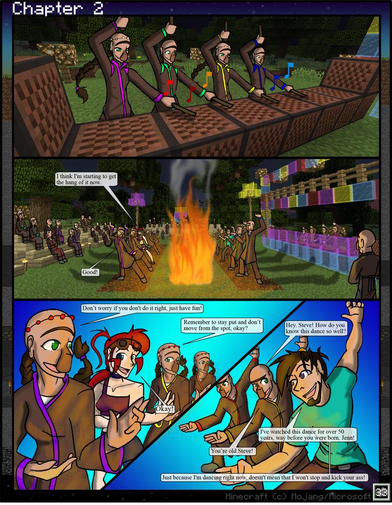Minecraft porn comics