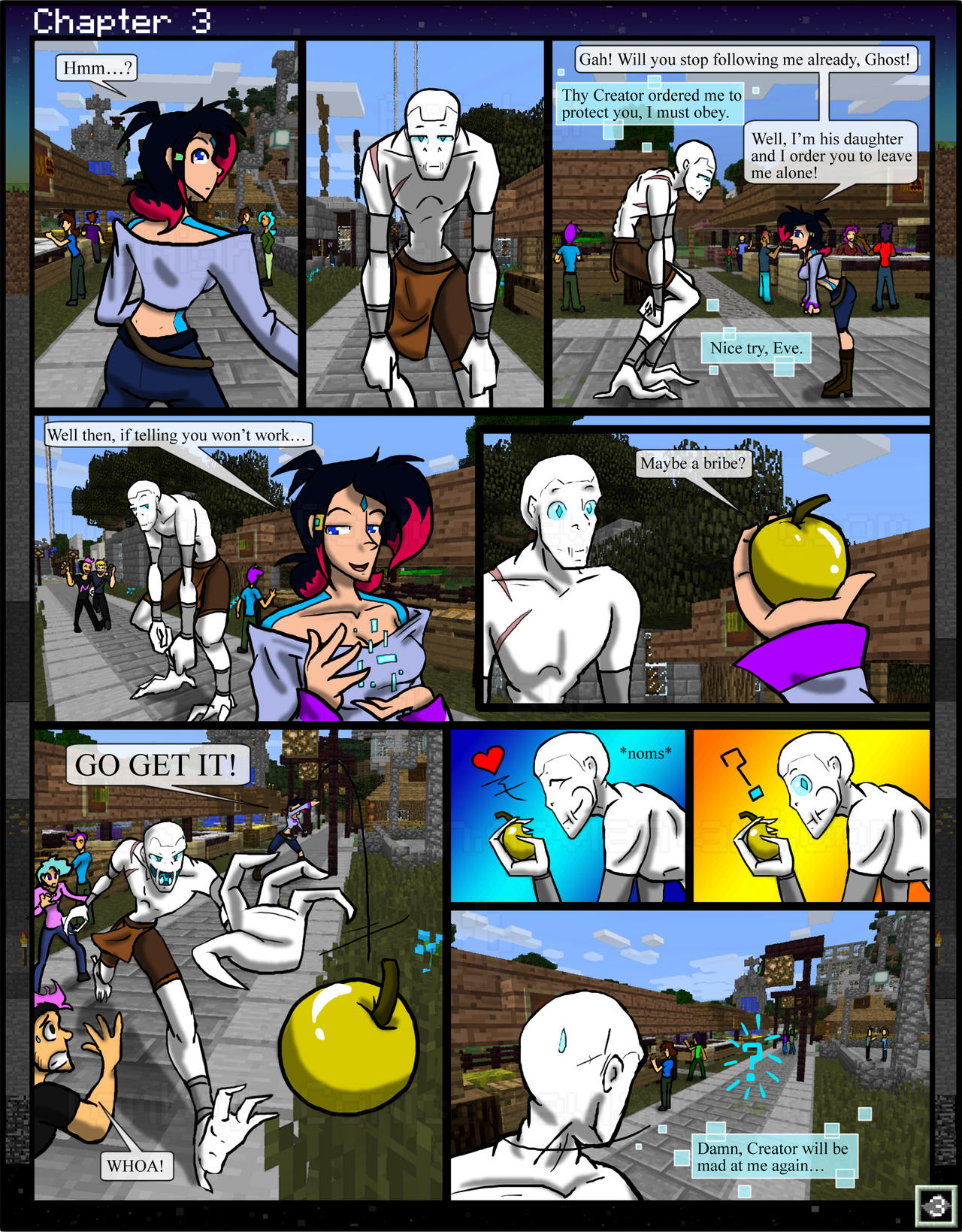 Minecraft: The Awakening Ch3 - 3 by TomBoy-Comics