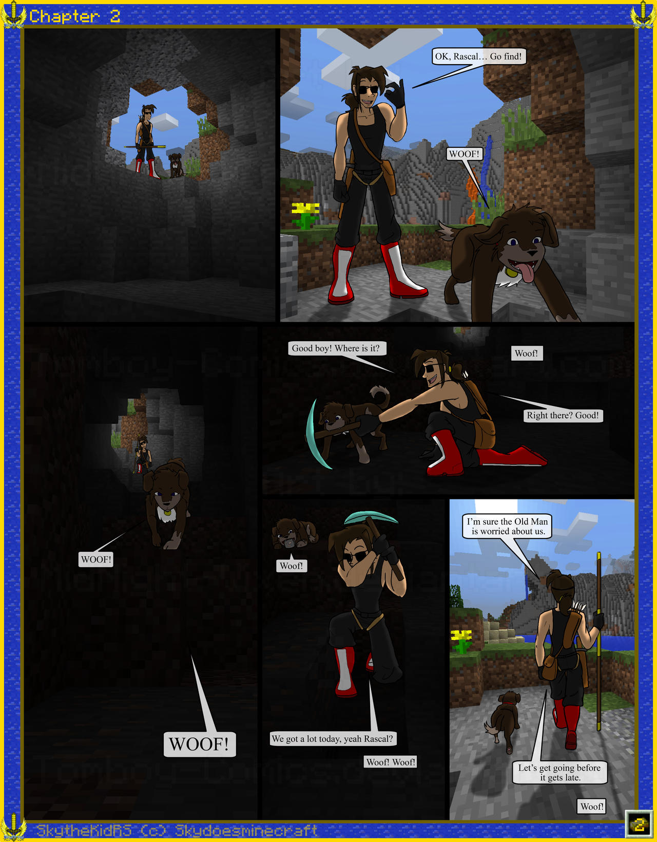 skyarmy origins chapter 2 2 by tomboycomics on deviantart