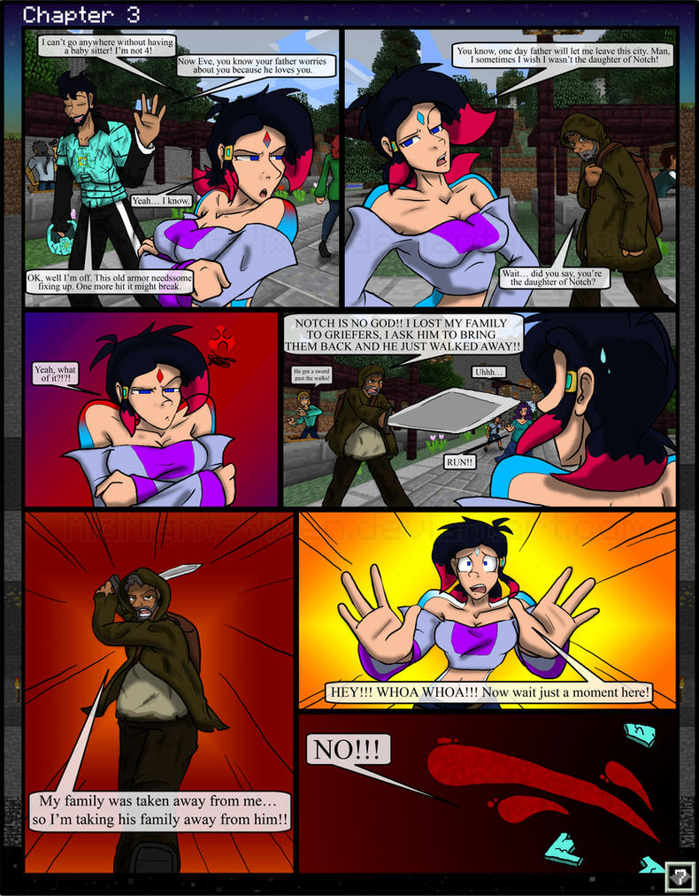 minecraft the awakening ch3 7 by tomboycomics on