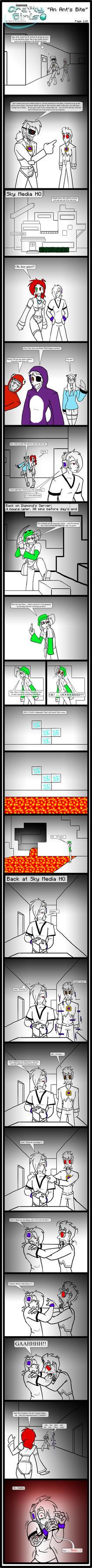 Minecraft Comic: CraftyGirls Pg 110 by TomBoy-Comics