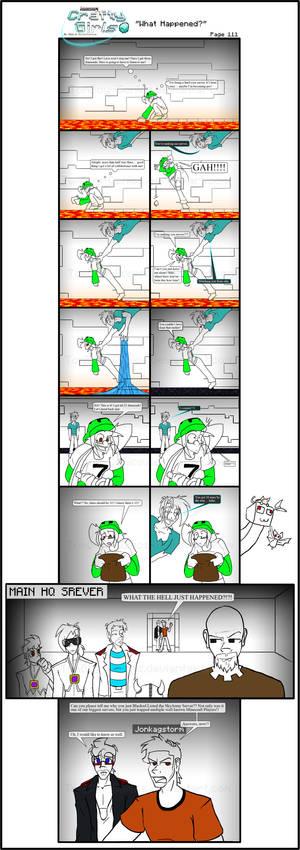Minecraft Comic: CraftyGirls Pg 111