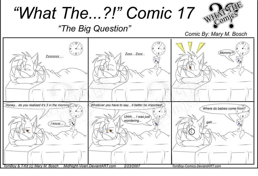 """What The"" Comics 17 by TomBoy-Comics"