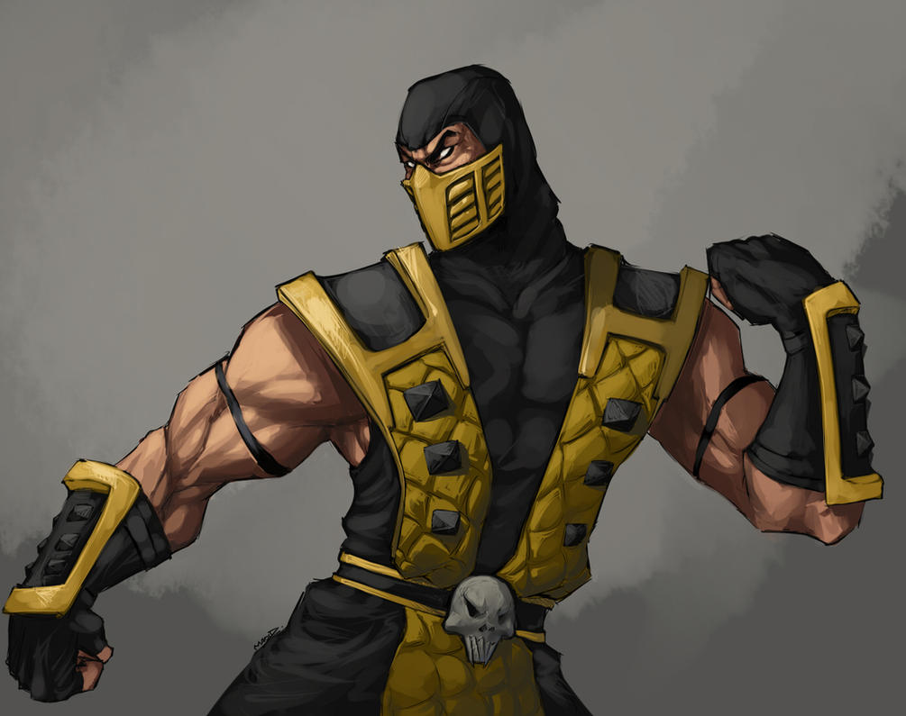.Commish:: Scorpion-Lover. by MadiBlitz