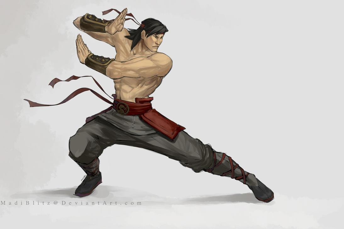 .Liu Kang. by MadiBlitz