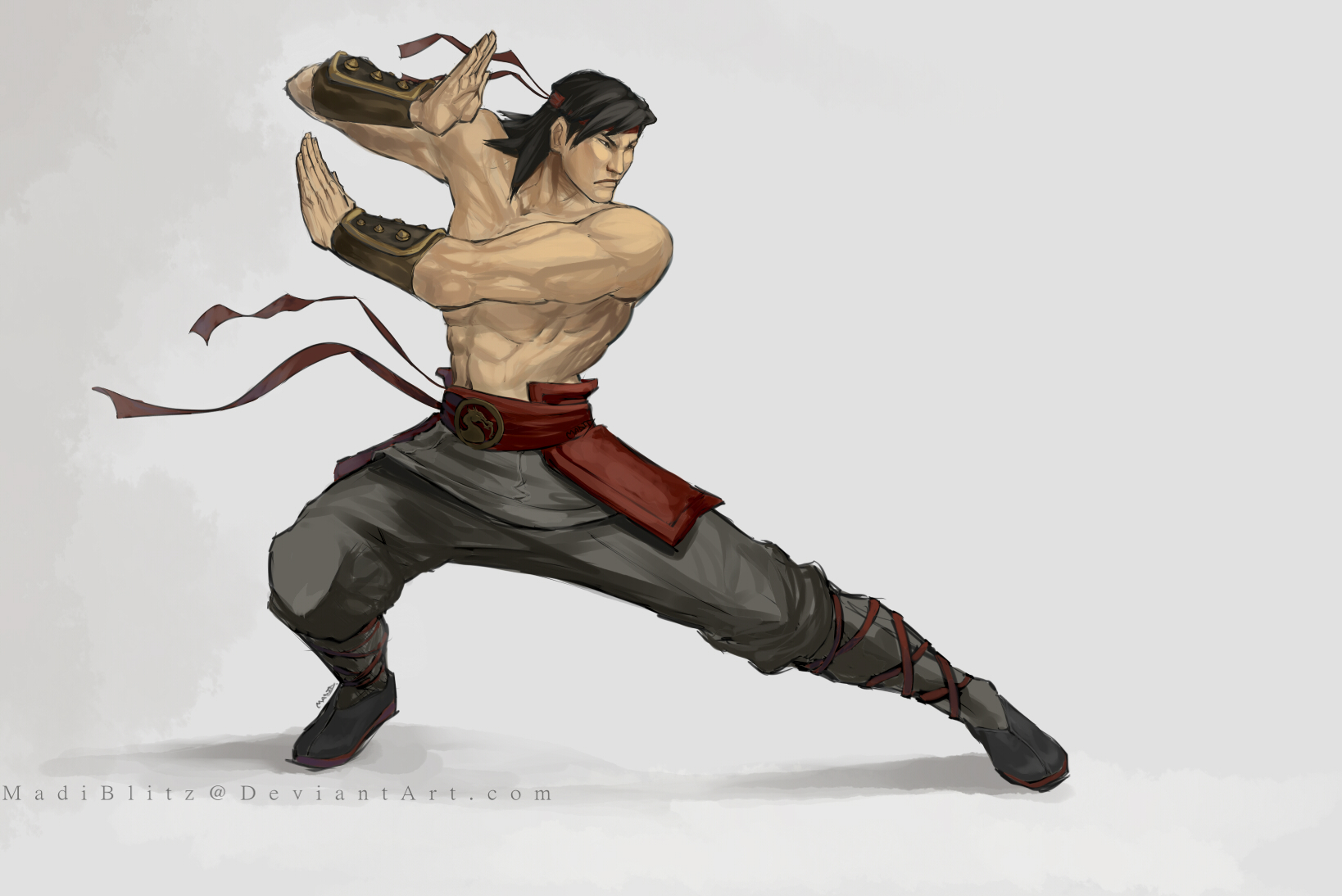 .Liu Kang. by MadiBlitz