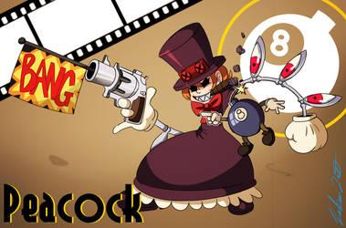 Peacock (SkullGirls) by Rocker2point0