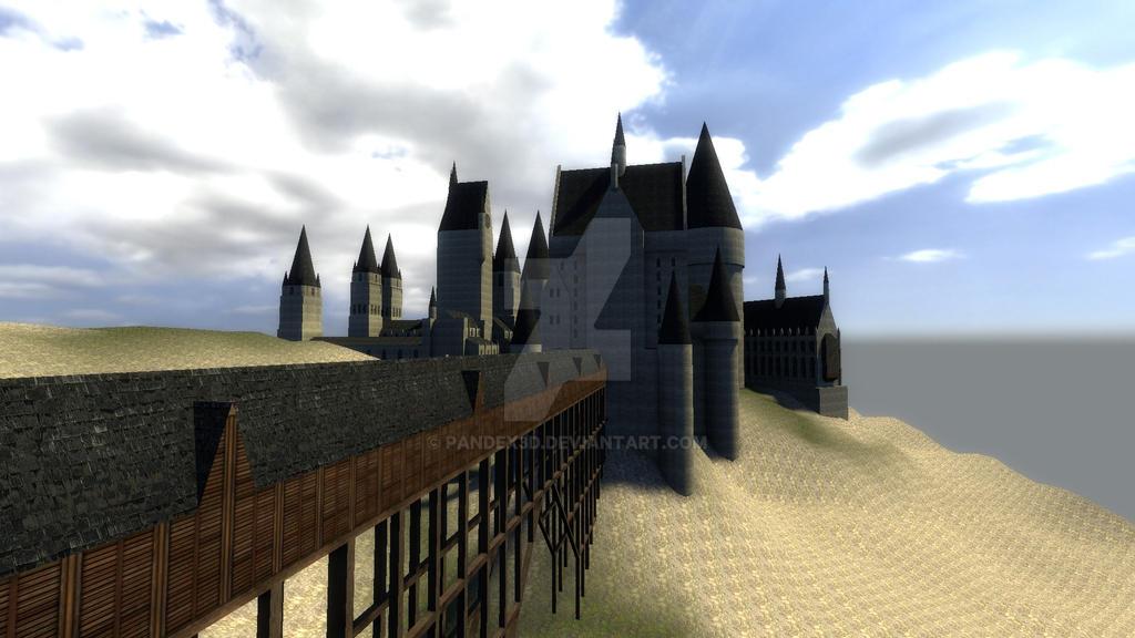 Hogwarts Garry's Mod/SFM map, WIP Update #5 part 2 by