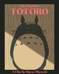 Totoro Minimalist Poster
