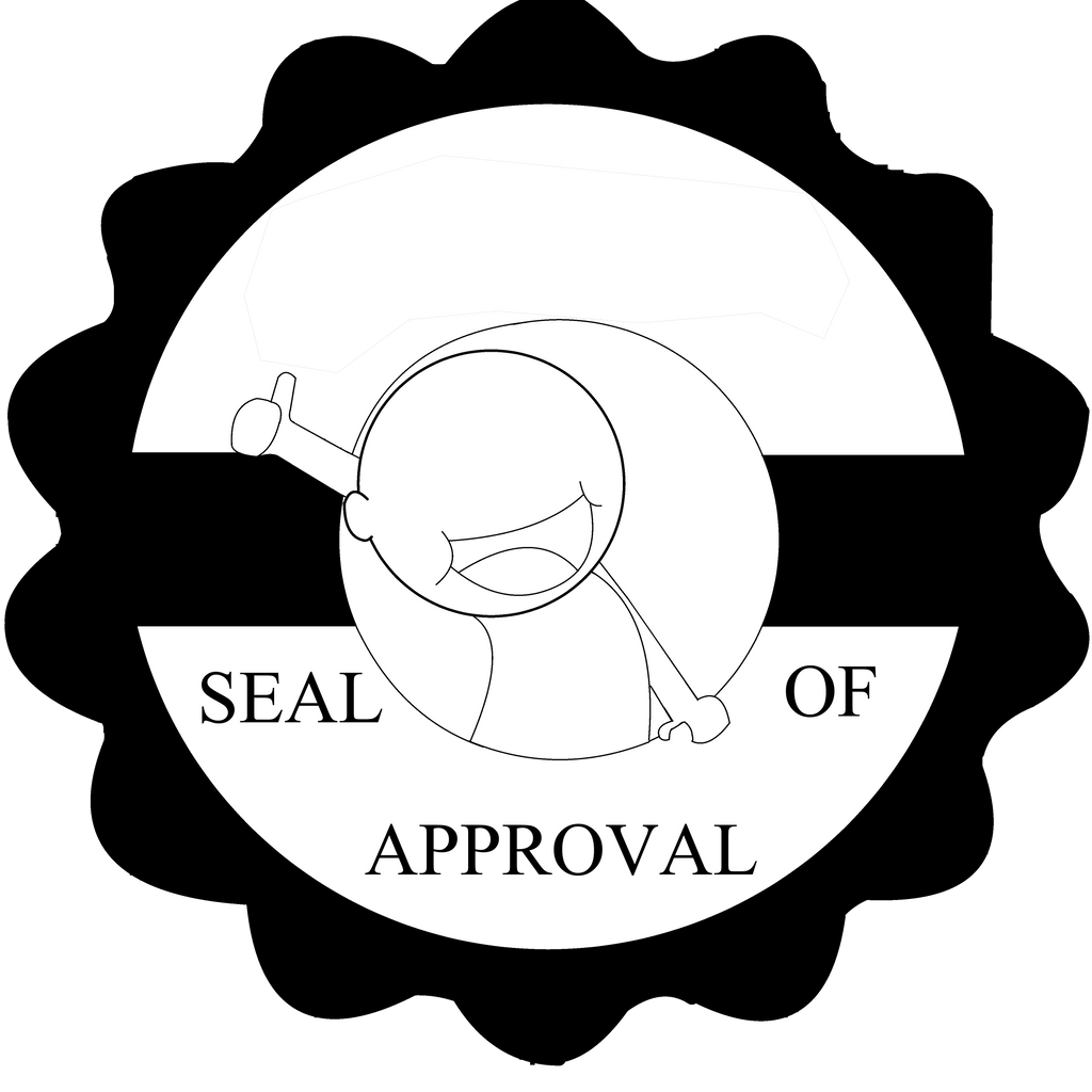 Seal of Approval Template by SmuglyOtaku on DeviantArt