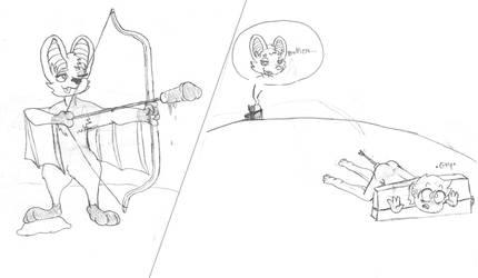 North's Archery Practice by SmuglyOtaku