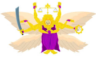 Checka, God of the Sun by SmuglyOtaku