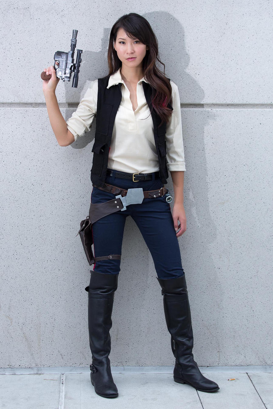 Fabuleux Han Solo Always Shoots First by milkchess on DeviantArt OW99