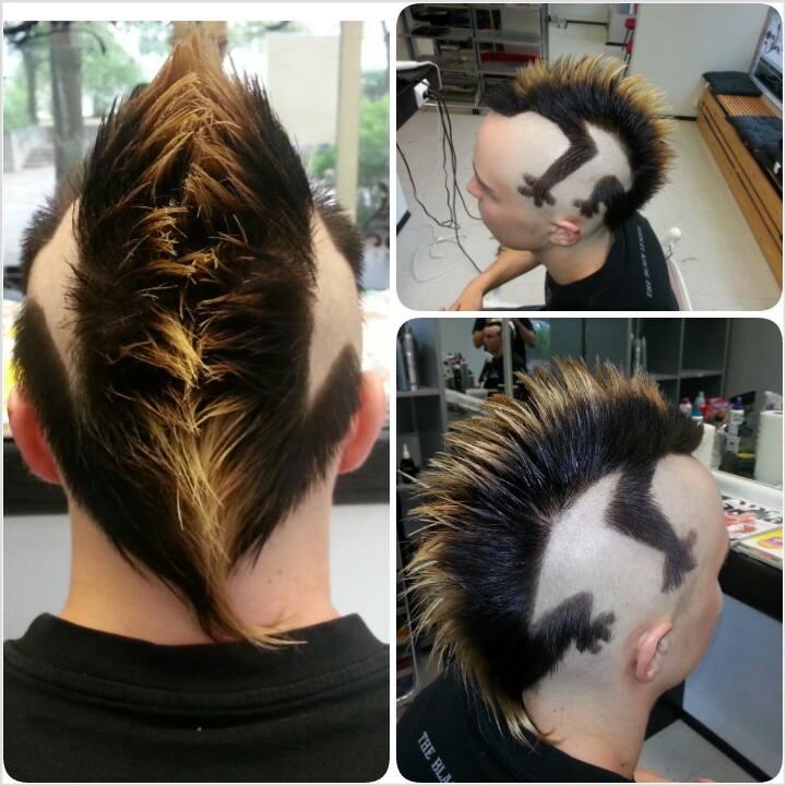 Lizard Hairstyle By Qtattoo On Deviantart