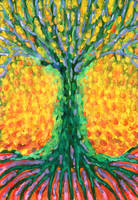 Joyful Tree by wojtekkowalski58