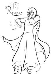 Alex- The Reaper (Sketch) by Elbellart