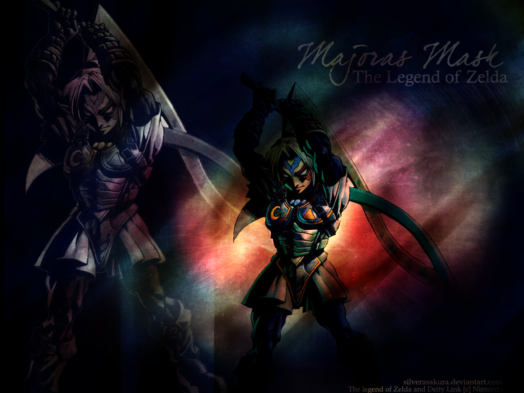 Majora S Mask Desktop Background: Fierce Deity Link By SilverAsakura On DeviantArt