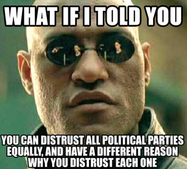 What if I told you distrust image macro by ciaranbenson
